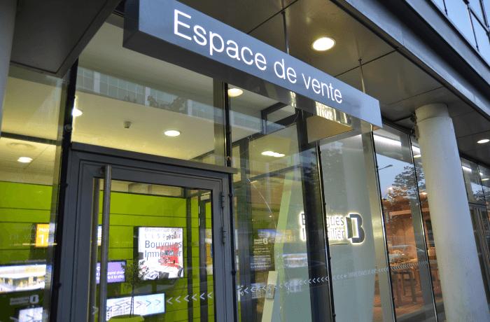 Espace de vente bouygues immobilier marseille s t l go - Bureau de vente immobilier ...